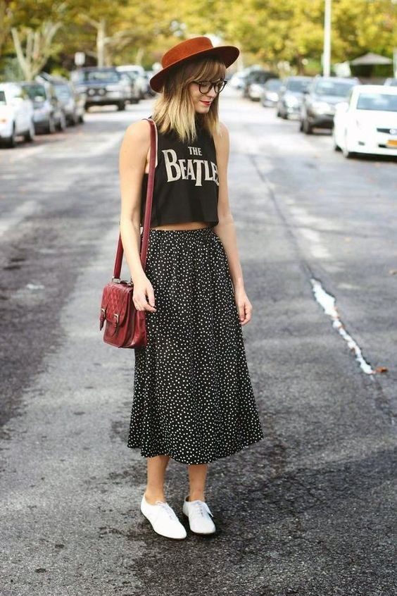 Hipster Dress Outfit