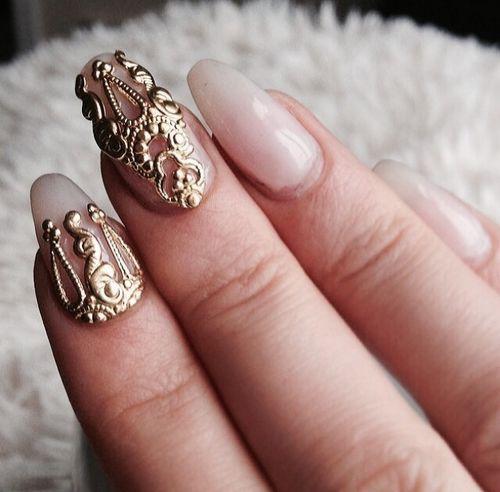 unicorn inspired manicure