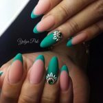 green french manicure