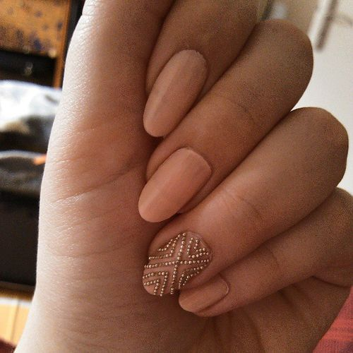 35 Absolutely Gorgeous Almond Shaped Nails Part 28