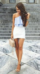 frill top outit