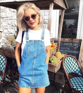 brunch dungaree outfit