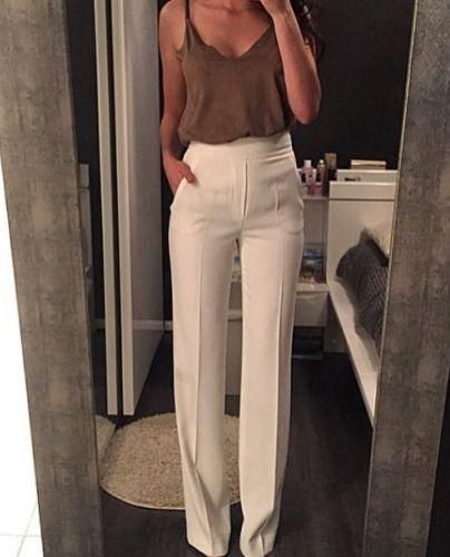 5b933b75ce1c Palazzo pants are definitely risky clothing items and it takes courage to  wear them