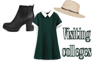 college summer outfit