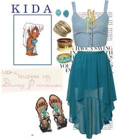 kida disney outfit