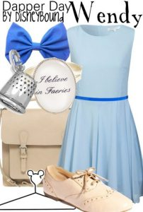 wendy peter pan outfit