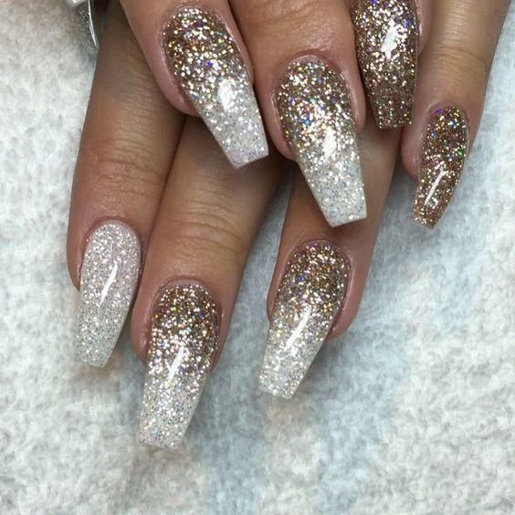 Gold Nails 35 Gold Nail Designs Part 25