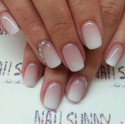 Nude Nails 30 Beautiful Nude Color Nail Designs Part 4