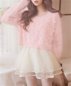 pink tulle outfit