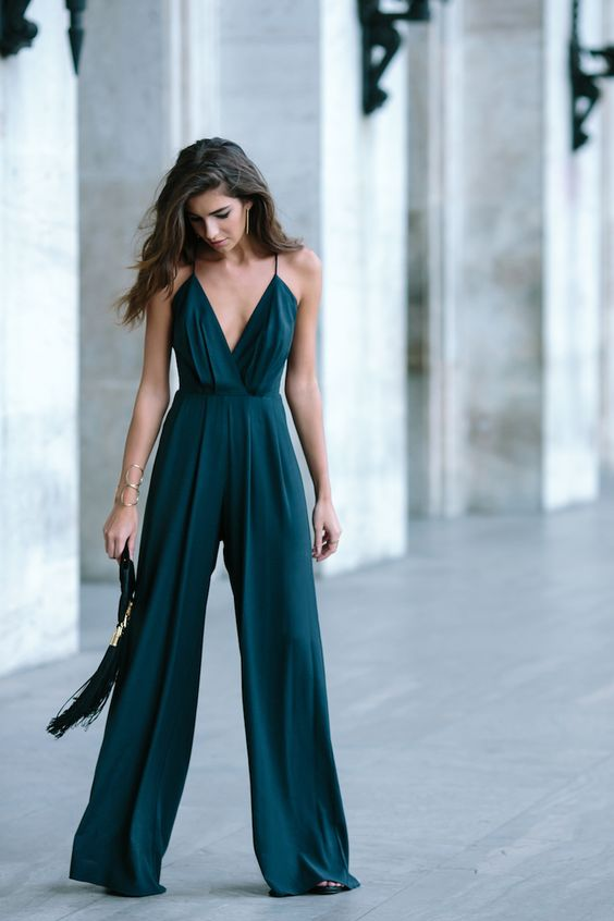 If You D Like To Try Something Out Of The Box And Edgy Yet Still Elegant Ropriate For A Wedding Look Beautiful Jumpsuit