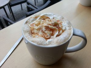 Apple Crumble Latte