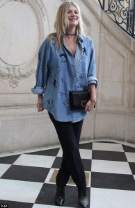 kate moss denim outfit