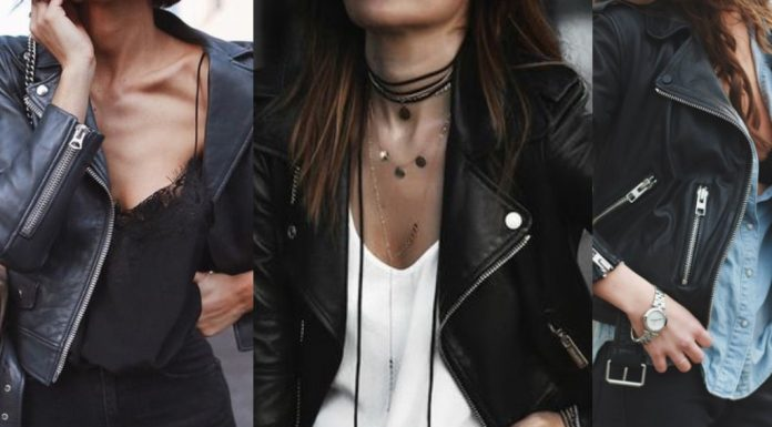 leather jacket outfits