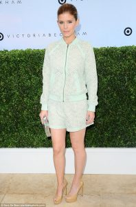 pastel outfit kate mara