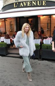 pastel outfit kate moss