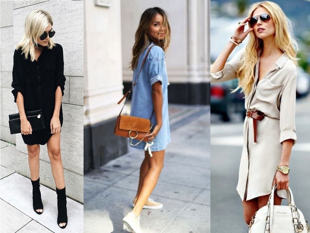 30 Chic And Cute Shirt Dress Outfit Ideas