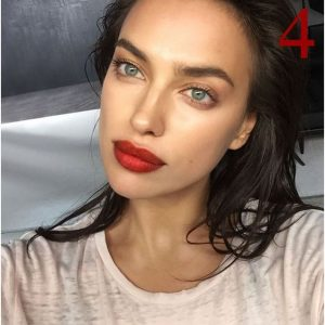 red lips summer makeup