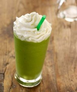 Green Tea Creme Frappuccino