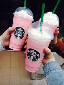 Birthday Cake Frappuccino