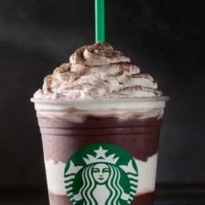 Soy Midnight Mint Mocha Frappuccino