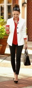 minnie mouse blazer outfit