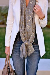 long knot scarf
