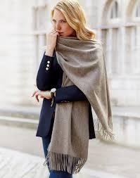 oversized wrap scarf