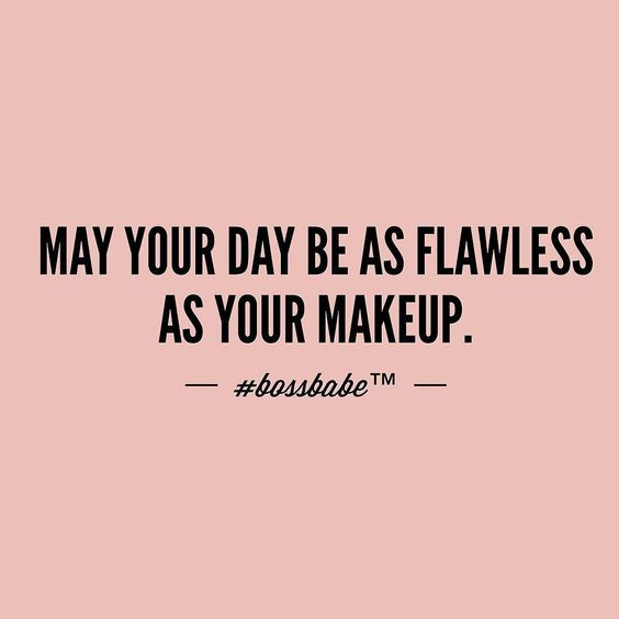 makeup sayings