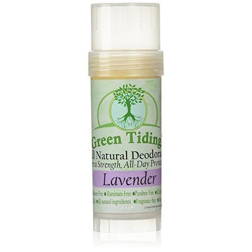 Green Tidings Organic All Natural Deodorant, Lavender
