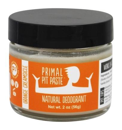Primal Pit Paste All Natural Orange Creamsicle Deodorant