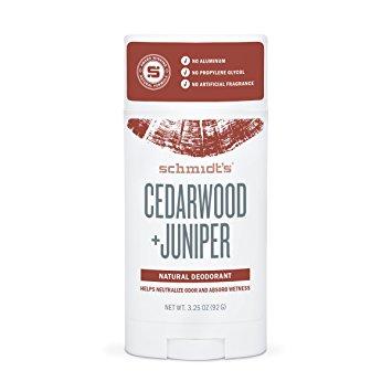 Schmidt's Deodorant Stick, Cedarwood + Juniper