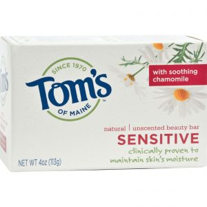 Tom's of Maine Natural Moisturizing Bar Sensitive with Chamomile
