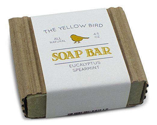 the yellow bird Hypoallergenic soap