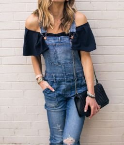 Off Shoulders And Jumpsuit