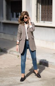 Pocket Coat And Jeans