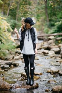 Hunter Boots And Vest