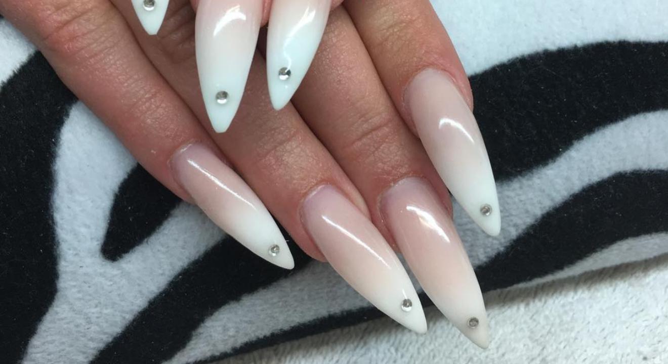 35 Stunning Pointy Stiletto Nails | Stiletto Nail Designs - Part 12