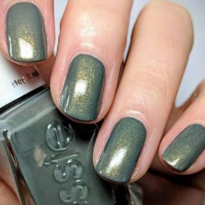 Grey Holographic Polish