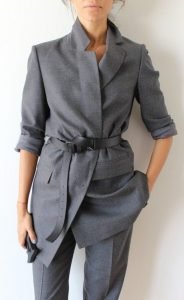 Belted Un-tailored Tailoring