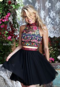 Embroidered Boho Two Piece