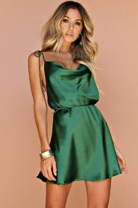 Emerald Silk Mini