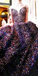 Glittery Gown