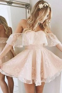 Lace Ruffle Dress