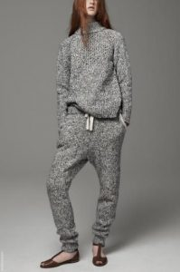 Wool Jumper And Joggers