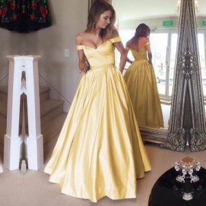 Yellow Belle Dress