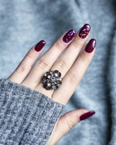 30 Burgundy Nails Burgundy Nail Color Ideas