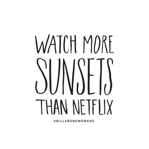 cute quote about sunset