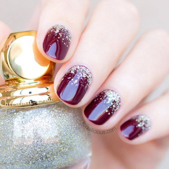 Nail Colors Burgundy: Burgundy Nail Color Ideas