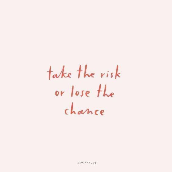 take the risk quote for instagram
