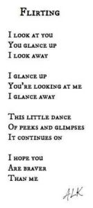 flirting quote song